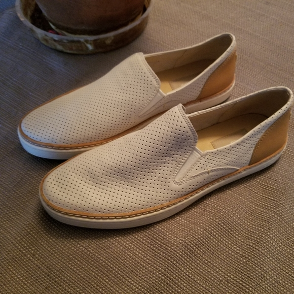 UGG Shoes - UGG white slip ons, women's size 8